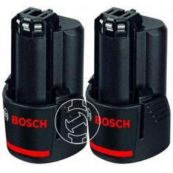 Акумулаторни батерии BOSCH 2xGBA 12V 3.0 Ah Professional, 12V, 3Ah