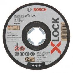 Ламелни дискове X-LOCK, ъглова версия, плоча с влакна, Ø 125 mm, G 60, X571, Best for Metal