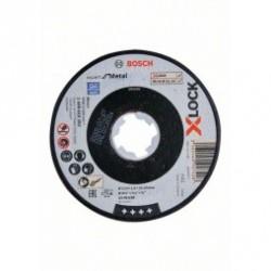 X-LOCK, Expert for Metal, 125x6x22,23, шлифоване с плосък център