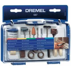 DREMEL Универсален комплект (687)