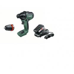 Акумулаторен винтоверт Bosch AdvancedDrill 18 V , 32 Nm, батерия 2,5 Ah, зарядно