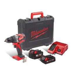 Комплект акумулаторни инструменти Milwaukee M18 CBLPD-422C - 18V Li-Ion