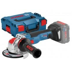 Акумулаторен ъглошлайф GWX 18V-10 SC Professional + комплект консумативи SOLO L-BOXX