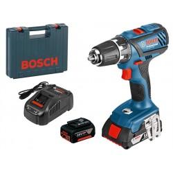 Акумулаторен винтоверт Bosch GSR 18-2 LI Plus ( 1 x 1.5Ah + 1 x 5Ah )