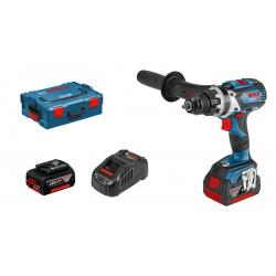 Акумулаторен винтоверт GSR 18V-85 C Professional+2× 5.0 Ah бат. +AL 1880 CV зарядно +L-BOXX 136