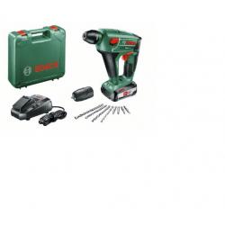 Акумулаторен перфоратор Uneo Maxx Bosch /18 V, 2.5 Ah, 0.6 J
