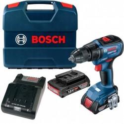 Акумулаторен винтоверт Bosch GSR 18V-50 /18V, 2x2.0Ah, 50 Nm/ L-case