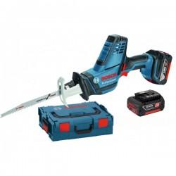 Акумулаторен саблен трион Bosch GSA 18 V-LI C Professional 2x5,0 Ah,L-BOXX + Прахосмукачка GAS 18V-10 L
