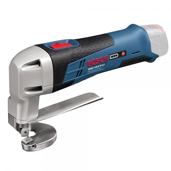 Акумулаторна ножица за ламарина Bosch GSC 12V-13 SOLO