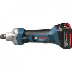Акумулаторна права шлифовъчна машина Bosch GGS 18 V-LI Professional, 1 x 5.0 Ah, L-BOXX