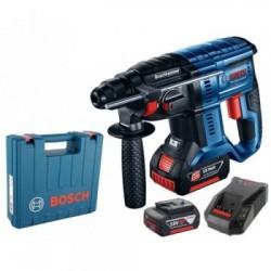 Акумулаторен перфоратор Bosch GBH 180-LI, 2x4.0 Ah, куфар