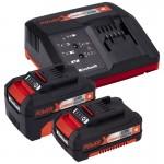 Акумулаторен комплект бормашина и ъглошлайф Einhell Power X-Change TE-TK 18 Li Kit (CD+AG)