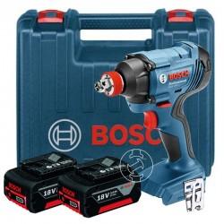 Акумулаторен ударен гайковерт Bosch GDX 180-LI /18 V, 180 Nm, 2x 3.0Ah, зарядно и куфар