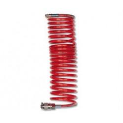Спирален маркуч с бърза връзка 15 м. Ф 6 мм.