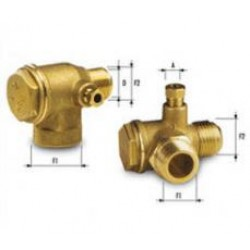 Възвратен клапан за компресор до 16bar 1/2 M на 1/2 M