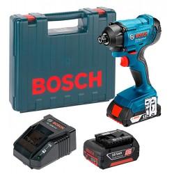 Акумулаторен ударен гайковерт BOSCH GDR 180-LI Professional / 2x3.0Ah / куфар