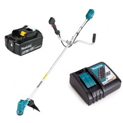 Makita Акумулаторна коса DUR190UZX4 + Батерия 6.0Ah + Зарядно устройство